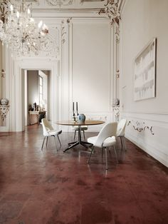 Parisian home with modern elements