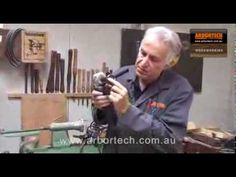 Arbortech Contour Random Sander For Sanding Bowls For The Perfect Finish - YouTube