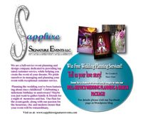 Enter now to win a FREE FULL-SERVICE WEDDING PLANNING PACKAGE from Sapphire Signature Events!