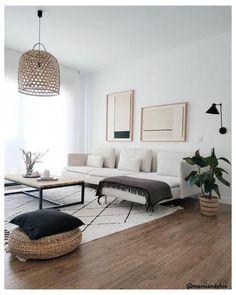 Living Room Modern, Living Room Interior, Home Living Room, Apartment Living, Living Room Designs, Small Living, Cozy Living, Scandi Living Room, How Decorate Living Room