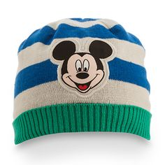Mickey Mouse Knit Hat for Baby
