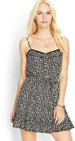 FOREVER 21 Ruffled Floral Cami Dress