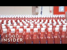 Insider visited the Heinz Tomato Ketchup factory in Elst, Netherlands, where million is madeIt's one of the world's most popular condiments, and it can be f Heinz Tomato Ketchup Recipe, Horseradish Recipes, Invention And Innovation, Kraft Heinz, Five Ingredients, Empty Bottles, Food Industry, Tomato Paste, Make It Yourself