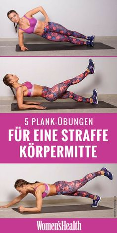 The plank is the classic abdominal exercises perfect for anyone looking for a . Die Planke ist der Klassiker unter den Bauchübungen perfekt für alle, die eine… The plank is the classic abdominal exercise perfect for anyone who wants a sexy flat stomach! Fitness Workouts, At Home Workouts, Training Fitness, Strength Training, Insanity Workout, Best Cardio Workout, Workout Challange, Best Abdominal Exercises, Workout Bauch