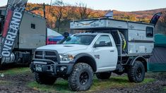 Expo East Cool Trucks and New Gear - Expedition Portal Overland Gear, Overland Truck, Overland Trailer, Expedition Vehicle, Off Road Camper Trailer, Truck Bed Camper, Truck Camping, Nissan Trucks, Dodge Trucks