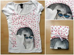 painted t-shirt
