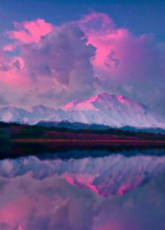 colored reflection