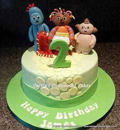 In the Night Garden cake Carole's celebration cakes and birthday cakes