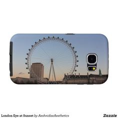 London Eye at Sunset Samsung Galaxy S6 Cases