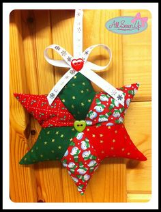 Christmas star hanging decoration - maybe it can be adjusted to a 5 point star