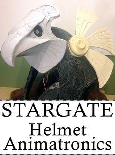 Build the animatronics to make your Stargate Horus helmet move!