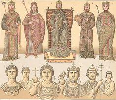 Corte bizantina y vestimenta eclesiástica