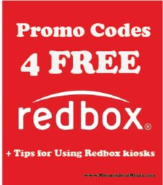 A List of Free Redbox Promo Codes for Movies and Game Codes + Tips on How to Get the Most Out of Redbox