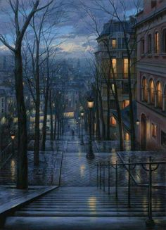 Wet street ☔️