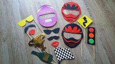 Accessoires photobooth x 14 thème moto, motard. mariage, anniversaire ... : Autres papeterie par stefebricole