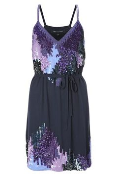 French Connection Crepe Bead Dress