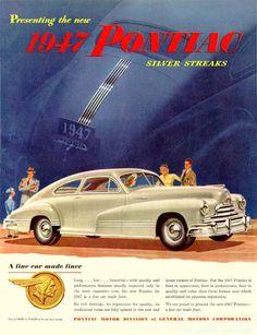 1947 Pontiac Silver Streak Two Door Fastback