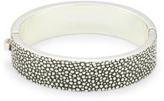 Zina Sterling Silver Medium Hinged Bangle Bracelet with Stingray Texture Zina Sterling Silver,http://www.amazon.com/dp/B0041KK29O/ref=cm_sw_r_pi_dp_1Qklsb018GGMSQ9E