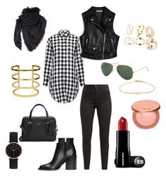 """""""Sin título #62"""" by esther-avayou on Polyvore featuring moda, IRO, Mulberry, Levi's, Marni, Ray-Ban, Gucci, Kate Spade, tarte y Tate"""
