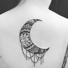 Crescent moon #tattoo#orangecounty#gardengrove#losangeles#ink#inked…