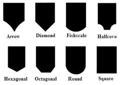 Roof Shingles~ Fancy Cut Choices