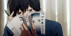 orange, anime, and kakeru image Anime Gifs, Anime Manga, Anime Art, Anime Love, Orange Anime, Tanaka Kou, Ao Haru, Blue Springs Ride, Manhwa Manga
