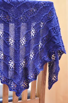 This shawl was knit with 4.5mm needles (well one 4.5mm needle, see below) and Blue Sky Alpacas Alpaca Silk yarn. The pattern is ShaelynbyLeila Raabe. I had several false starts knitting this shaw…