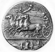 DOC1/37 - A silver coin from Syracuse, 425 - 407 BC