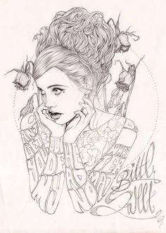 LIVE PAINTING AT 'DRAWN', ILLUSTRATION EVENT by Miss Led, via Behance