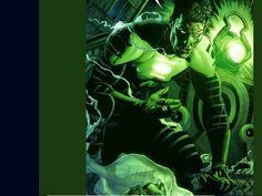 Wallpaper of Green Lantern for fans of DC Comics 5344595 Green Lantern Rebirth, Green Lantern Powers, Green Lantern Movie, Green Lantern Comics, Green Lantern Hal Jordan, Green Lanterns, Comic Books Art, Comic Art, Book Art