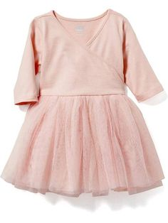 tutu dress for baby. 0-3 months. light pink.