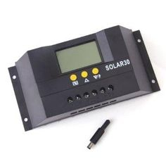 30A 12V/24V Auto Switch Solar Charger Controller Regulator with LCD Display - http://coolgadgetsmarket.com/30a-12v24v-auto-switch-solar-charger-controller-regulator-with-lcd-display/