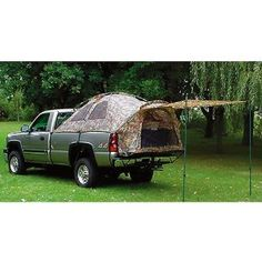 camping tent for T's truck!