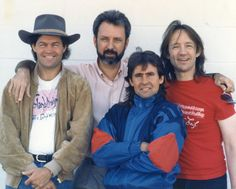 The Monkees in 1989 (Photo by Henry Diltz)