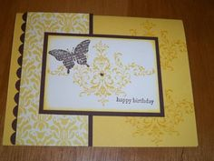 Blissful Birthday by dawndell - Cards and Paper Crafts at Splitcoaststampers