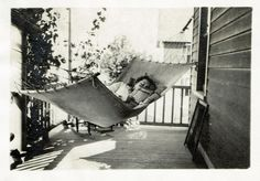 A fine way to spend an afternoon or even an entire day. Photo taken circa 1925.
