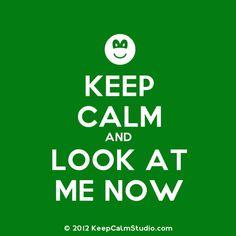 Keep calm ladies..