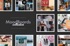 Mood Boards Collection by PixelBuddha on @creativemarket