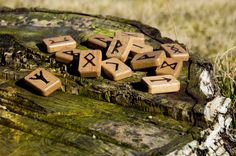 runes Ancient Runes, Tarot Spreads, Candy, Chocolate, Crafts, Vikings, Witchcraft, Pagan, Mystic