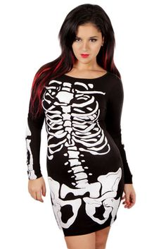 Perfect and easy halloween dress! <3