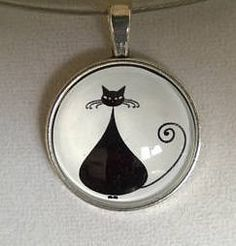 Your place to buy and sell all things handmade Black Choker Necklace, Cat Necklace, Wire Necklace, Collar Necklace, Funky Jewelry, Black Jewelry, Wire Jewelry, Cardboard Jewelry Boxes, Black Bracelets