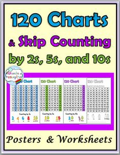 number charts to 1000 posters worksheets math resources prek grade 6 pinterest. Black Bedroom Furniture Sets. Home Design Ideas