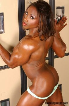 Nude Black Female Body Builders pity, that