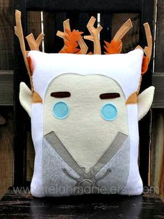 Thranduil, The Hobbit, pillow, cushion, Plush, Lord of the Rings