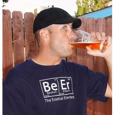The ORIGINAL Beer: The Essential Element T-Shirt  by brewershirts