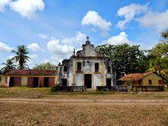 Igarassu, Pernambuco - Brasil - antigo engenho ainda em funcionamento na zona rural