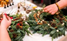 Introduction to Texture : Introduction to Floristry Design (Open Polytechnic - powered by iQualify) Christmas Eve Traditions, Christmas Events, Christmas Wreaths, Diy Unicorn Birthday Card, Unicorn Valentine, Magical Christmas, Winter Christmas, Vintage Crockery, Cream Tea