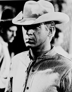 Steve McQueen - One cowboy you shouldn't mess with.