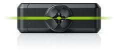 fixxo Universal KFZ-Handyhalter, Rückseite mit schmalen Schlitzen zur Montage auf schmalen Lüftungslamellen
