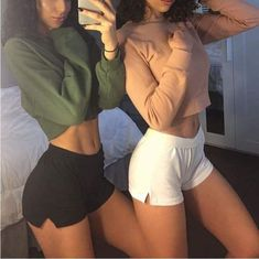 girls, goals, and body image Best Friend Outfits, Motivation Goals, Girl Body, Body Inspiration, Perfect Body, Instagram Fashion, Disney Instagram, Fitspo, Gym Shorts Womens